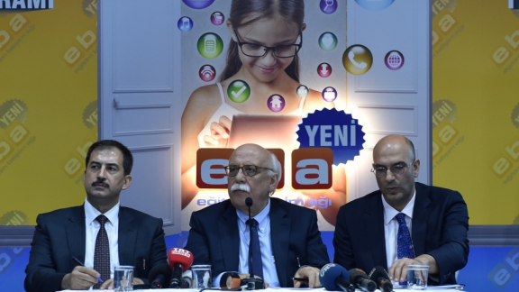 Minister Avcı promotes the world's biggest education portal, the New EIN